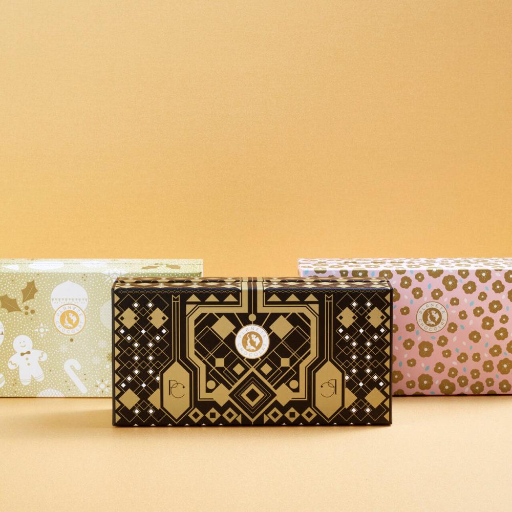 Emballage cadeau pour chocolat