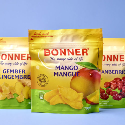 Bonner brand relift by DesignRepublic, branding and packaging design agency Belgium