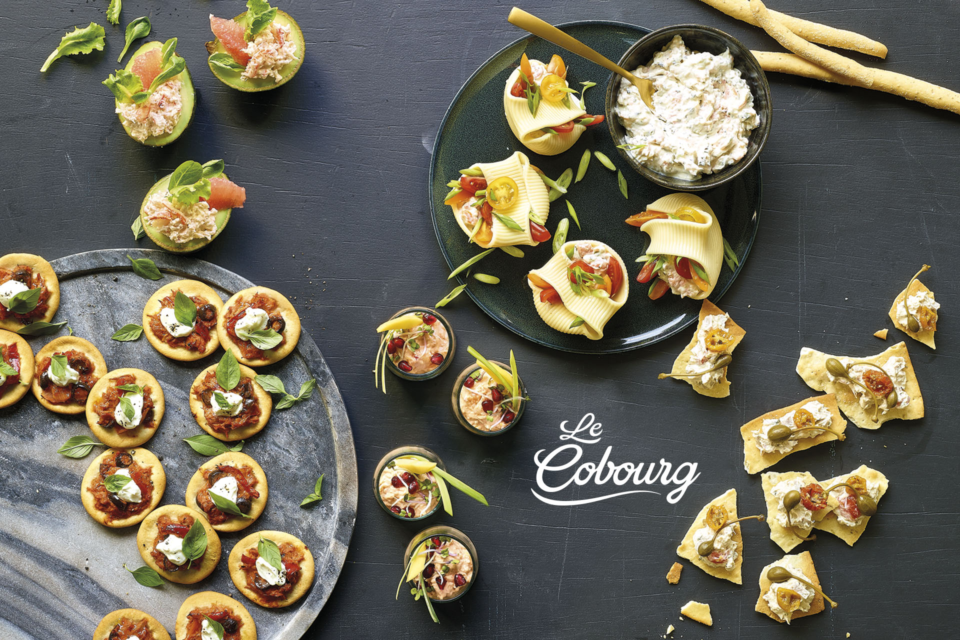 concept and food styling Le Cobourg by DesignRepublic